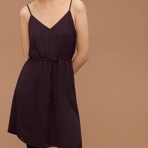 Babaton Casimir Dress in Burgundy
